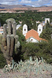 Das Dorf von Humahuaca Lizenzfreie Stockfotos