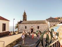 Das Dorf von San Andrés de Teixido lizenzfreie stockbilder