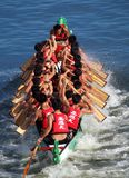 Das Dragon Boat Festival 2013 in Kaohsiung, Taiwan Stockbild