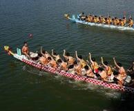 Das Dragon Boat Festival 2014 in Kaohsiung, Taiwan Lizenzfreie Stockfotografie