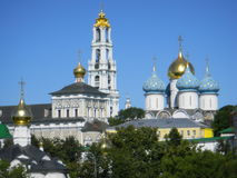 Das Dreiheit-St. Sergius Lavra Lizenzfreies Stockbild