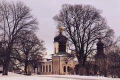 Das Dreiheits-Kloster von St. Jonas in Kiew stockbild