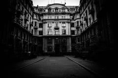 Das dunkle Haus Stockfotografie