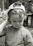 Das durchdachte Kind Stockbild
