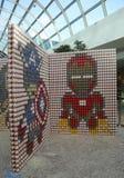 Das eben erneuerte Nassau-Veteranen-Erinnerungskolosseum in Uniondale, NY Lizenzfreie Stockfotografie