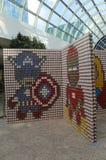 Das eben erneuerte Nassau-Veteranen-Erinnerungskolosseum in Uniondale, NY Stockfotos