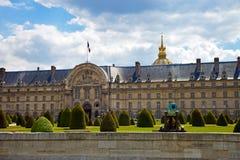 Das Ecole Militaire in Paris, Frankreich. Stockbilder