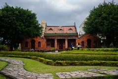 Das ehemalige Teil des Universität von Oxfords-Colleges jetzt von Aletheia-Universität in Tamsui-Bezirk neues Taipeh Taiwan stockfotos
