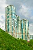 Das ehrgeizige Gebäude Stockbild