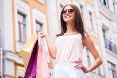 Das Einkaufen ist meine Lebensdauer! Lizenzfreie Stockfotografie