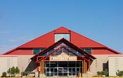 Das Einkaufszentrum am Fort Johannes, Kanada lizenzfreies stockbild