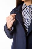 Das Einzelteil von Kleidung Detail der Fellzeichnung lizenzfreie stockfotografie