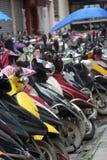 Das electromotion Motorrad Lizenzfreies Stockfoto