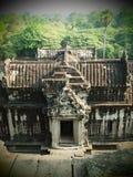 Das Elefant-Gatter von Angkor Wat Lizenzfreies Stockfoto