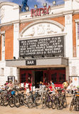 Das elegante ist ein berühmtes Kino in Brixton, Süd-London Stockbild