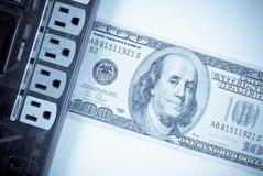 Das elektrischer Bill-Konzept Stockfoto