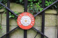Das Emblem der Stadt von York Stockfotografie