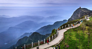 Das Emei Shan Stockbild