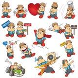 Das Emoticon ` s Ted Stockbild