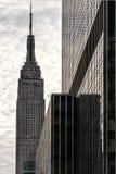 Das Empire State Building in Manhattan Lizenzfreies Stockbild