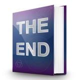 Das Ende. Stockfotos