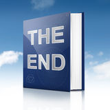 Das Ende. Lizenzfreie Stockbilder