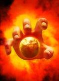 Das Ende der Welt stock abbildung