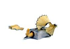 Das Ende eines Bleistifts Konzept Der Schluss ende ermüdung Stockbilder