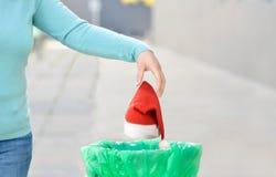 Das Ende von Weihnachten lizenzfreie stockfotos
