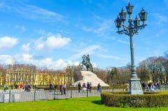 Das Ensemble des Senats-Quadrats in St Petersburg Lizenzfreie Stockfotografie