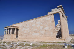 Das Erechtheum, Athene, Griechenland lizenzfreies stockbild
