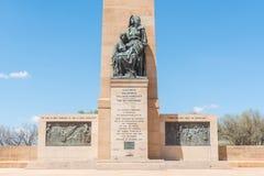 Das Erinnerungs-Bloemfontein der Frauen Lizenzfreies Stockbild