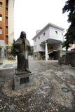 Das Erinnerungshaus von Mutter Teresa in Skopje stockfotos