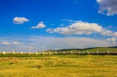 Das erstaunliche Kloster Erdene Zuu, Mongolei stockfoto