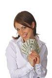 Das erste Gehalt Lizenzfreie Stockfotos