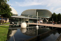 Das esplanade-Theater Singapur Stockbild
