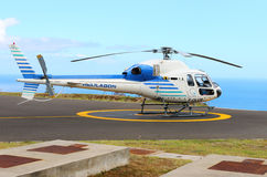 Das Eurocopter 355N Lizenzfreies Stockbild