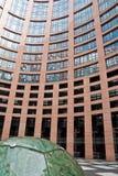 Das europäische parlamient Gebäude in Straßburg Lizenzfreie Stockfotografie