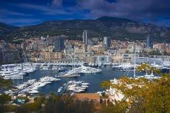 Das Fürstentum Monaco Stockbilder