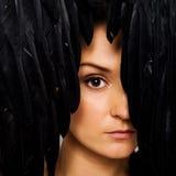 Das Face.Perfect-Make-up des Mode-Mädchens. Stockfotos