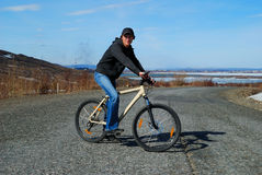Das Fahrrad Lizenzfreies Stockfoto