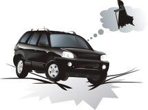 Das Fahrzeug vektor abbildung