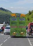 Das Fahrzeug von Pressade - Tour de France 2016 Lizenzfreie Stockbilder