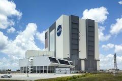 Das Fahrzeugmontage-Gebäude an der NASA, Kennedy Space lizenzfreie stockbilder