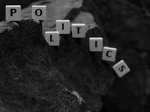 Das Fallen der Wort-Politik lizenzfreies stockfoto