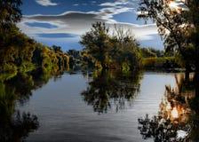 Das fantastische Donau-Dreieck stockfoto