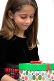 Das Feiertags-Geschenk Stockfotografie