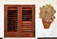 Das Fenster stockbilder