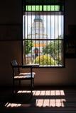 Das Fenster im Tempel von Thailand Lizenzfreie Stockbilder