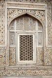 Das Fenster in Indien Stockbilder